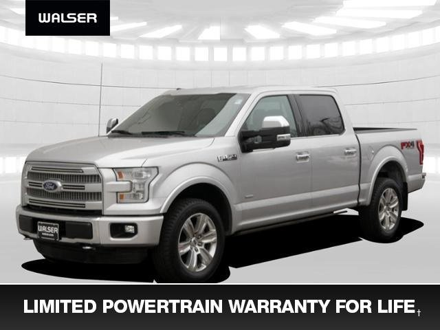 Pre-Owned 2015 Ford F-150 Platinum Loaded + Warranty For Life
