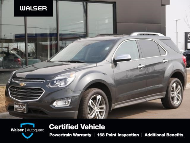 Pre-Owned 2017 Chevrolet Equinox Premier Moon Blind Spot