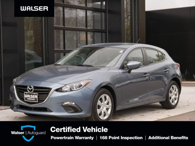 Certified Pre Owned 2015 Mazda Mazda3 I Sport Hatchback In White