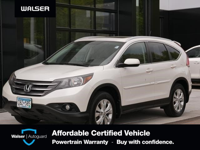 Pre-Owned 2012 Honda CR-V EX-L HEATED LEATHER MOON