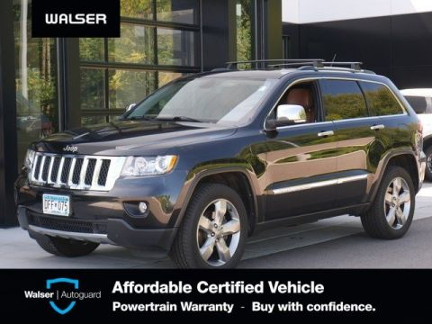 Pre-Owned 2012 Jeep Grand Cherokee OVRLND