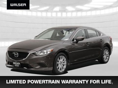 Pre-Owned 2016 Mazda6 i Sport +Warranty For Life