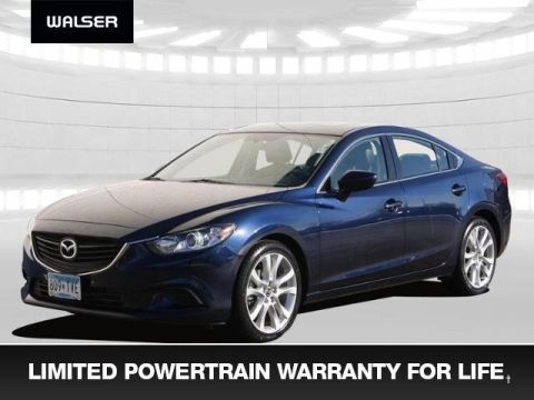 Pre-Owned 2016 Mazda6 i Touring +Warranty For Life